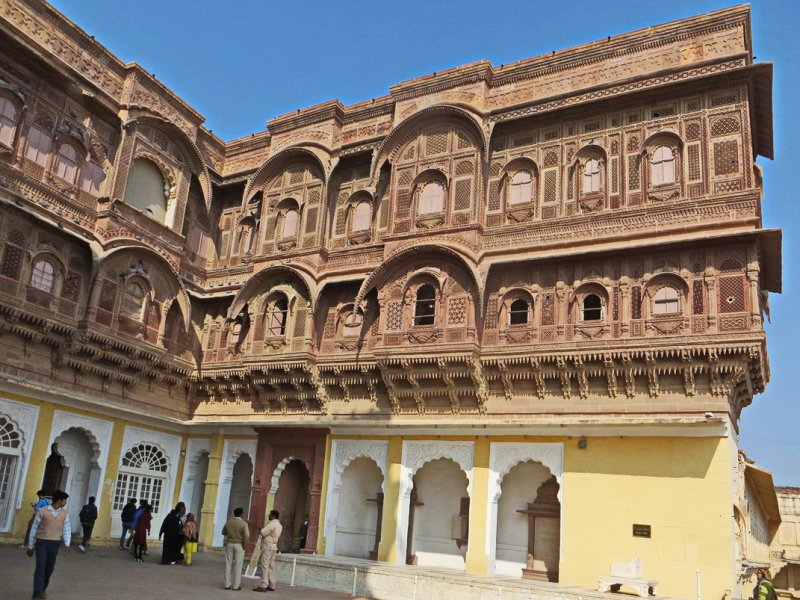 Backpacking in India: Day 8 (Jodhpur - Umaid Bhavan Palace - Mehrangarh Fort) - Foto 7