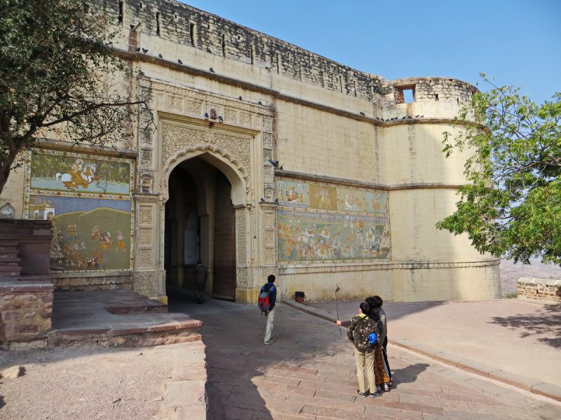 Backpacking in India: Day 8 (Jodhpur - Umaid Bhavan Palace - Mehrangarh Fort) - Foto 6